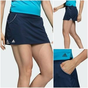 ADIDAS Club Climalite Tennis Skort Navy Size S
